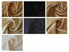 "Natural Pure 100% Washed Linen Fabric Material - 7 Colours - 54"" (137cm) Wide"