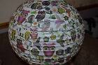 Roger la Borde Paper Light/Lampshade/Paper Lantern. in Owls or Birdhouses