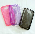 New TPU Soft Gel Silicone Cover Case Skin For HTC Sensation XL