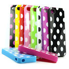 Fashion Dots Points Soft TPU Gel Silicone Back Case Cover For iphone 4 4G 4S