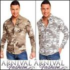 NEW MENS camo SHIRTS for MEN military WEAR CLOTHING MEN'S ARMY FASHION shirt TOP
