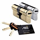 Avocet ABS 3 Star High Security Euro Cylinder UPVC Door Lock Anti Snap TS007