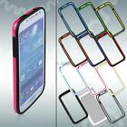 Silicone Frame Button Side Cover Protect Case Bumper For Samsung Galaxy i9500 S4