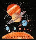 SOLAR SYSTEM [with PLUTO!]--Astronomy Space Planets Science T shirt NEW! L, XL