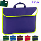 Hi Viz Enhanced Reflective Book Bag School Music Childs Kids Reading