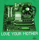 LOVE YOUR MOTHER [BOARD]--Computer Geek I.T. Technology T shirt NEW! Size S-XXL