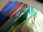 4 x SHEETS METALLIC WRAP PAPER range of colours GIFT WRAPPING HAMPER  FREE P&P