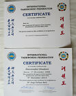 ITF TAEKWONDO CERTIFICATES - To Record all of the Details for Promotions etc
