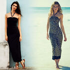 AVON ANIMAL PRINT REVERSIBLE MAXI DRESS. SIZE 10/12 14/16 22/24 NEW in pack .