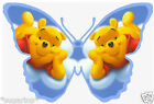 25 x Disney WINNIE POOH Butterflies Edible Decorations Cup Cake Toppers