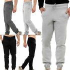 Mens Gym Joggers Jogging Pants Tracksuit Bottoms Fleece Trousers Size S M XL XXL