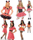 MINNIE COLLECTION DELUXE FANCY DRESS CHARACTER COSTUMES HALLOWEEN PARTY OUTFIT