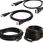 HDMI Premium Cable 3ft 6ft 10ft 15ft 20ft 25ft 30ft 35ft 40ft HD TV LCD Xbox Lot