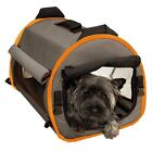 Soft Folding Dog Puppy Crate Pet Carrier - Durable, Water Resistant - 3 Sizes