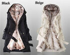 2013 Hot Women thicken fleece Warm Coat Lady Outerwear Fur Jacket Fashion New