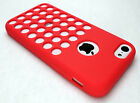 New Apple iPhone 5c Silicone Cell Phone Case Cover Skin - Varition of Color 5 C