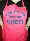 NOVELTY CHEF'S  APRON - NEW - ADJUSTABLE NECK - ONE SIZE - GREAT GIFT