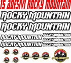 KIT 15 ADESIVI ROCKY MOUNTAIN BICI STICKERS ROCKY MOUNTAIN BIKE