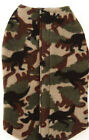 Zack and Zoey Green Camo Fleece Coat XS L Step IN Yorkie Toy Poodle Beagle Pug