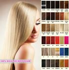 "Tape Skin Human Hair Extensions Straight 16""-26""black brown blonde Health Beauty"