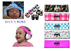 Infant Baby Em's Earmuffs 4 Bubs Ear Hearing Protection Baby's Ears Pic Color