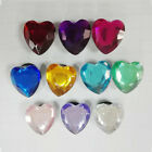 10-50pcs Crystal Heart PVC Shoe Charms<Shoe Accessories Kids Party Gifts Favor