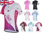 UK Stock Free P&P Cheji Bicycle Cycling Team Lady Sports Outfit Jerseys  S-XXL