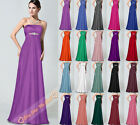 Evening Gown Party Ball Prom Bridesmaid Dress Size 6 8 10 12 14 16 18 20 22 24 +
