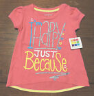 Healthtex Girl's Shirt ~ Size 3T ~ Glittery Letters, Bright Colors! ~ NWT