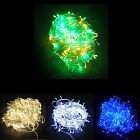 12/24/50m LED Rope Light Christmas Party Fairy Wedding String Lights Multicolour