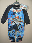 BOYS FLEECE DISNEY PLANES  ALL IN ONE PYJAMAS SLEEPSUIT  ONESIE AGE 2 3 4 5 BNWT