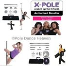 ★The X-Pole® Dance Range - Chrome, Titanium Gold or Brass in 50mm,45mm & 40mm ★ , usado segunda mano  Gran Bretaña