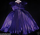 Purple Prom Pageant Flower Girl Bridesmaid Dance Ball Party Bolero Dress 2-12y