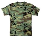 Camouflage Camo MENS Short Sleeve T-Shirt S TO 6X