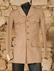 VINTAGE 70s FRENCH MILITARY OFFICERS SUMMER JACKET - XS