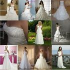 New Stock Wedding Dresses Prom/Bridal Gown Stock Size:6-8-10-12-14-16-18