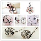 Jaime 925 Solid Sterling Silver Cherry Clips fit European Bead Charm Bracelet