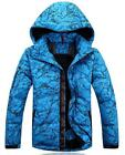 Men's Winter Waterproof Ski-Snowboard Military Wear Cold Weather Warm Parkas