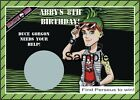 Monster High - Duce Gorgon - Scratch Off Tickets - Birthday Party. 12 Count.