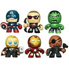 "MARVEL AVENGERS MINI MUGGS 3"" FIGURE - 6 TO CHOOSE FROM - HULK, IRON MAN, THOR"