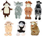 Hot Water Bottle And Cover Toy Soft Cuddly Gift for Kids & Adults Animal Shaped
