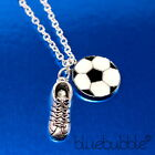 FUNKY FOOTBALL NECKLACE SPORTS CLUB FAN FUN NOVELTY PARTY KITSCH RETRO TRAINER