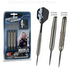 Phil Taylor Power Silverlight Brass Steel Tip Darts by Target - Knurled / Ringed