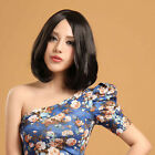 Fashion Cool Charming Curly Wave Hair Full Wigs Cosplay Short Brown Wig No Bang