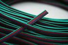 50Meter 4-Pin RGB 4 Wire Extension Connector Cable Cord  for LED Strip 3528 5050