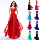 New Chiffon Sexy Long Formal Prom Dresses Party Bridesmaid Evening Ball Gowns