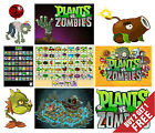 PLANTS VS ZOMBIES POSTER Gift for Game Fans Kids Room Decor Design 30x21cm Print
