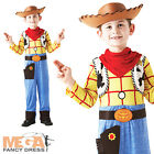 Deluxe Woody Cowboy Boy's Fancy Dress Up Disney's Toy Story Kids Costume Outfit
