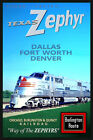 TEXAS ZEPHYR Burlington Route New Retro Railroad Train Poster -Art Print 156