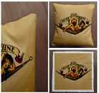 Sailor Jerry Rise Shine - Printed Cushion Fabric Panel Or Case or with Filling